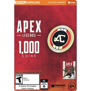 1,000 Apex Coins Digital (código) / PC