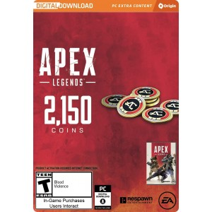 2,150 Apex Coins Digital (código) / PC
