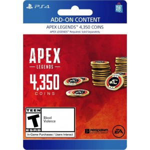 4,350 Apex Coins Digital (código) / Ps4