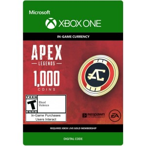 1,000 Apex Coins Digital (código) / Xbox One