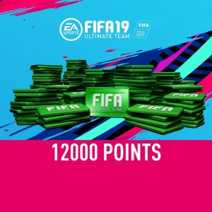 FIFA 19 Ultimate Team 12000 FIFA Points Digital (Código) / Ps4