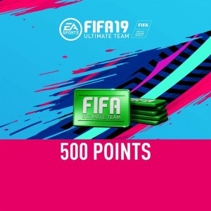 FIFA 19 Ultimate Team 500 FIFA Points Digital (Código) / Ps4