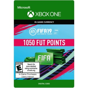 FIFA 19 Ultimate Team 1050 FIFA Points Digital (Código) / Xbox One