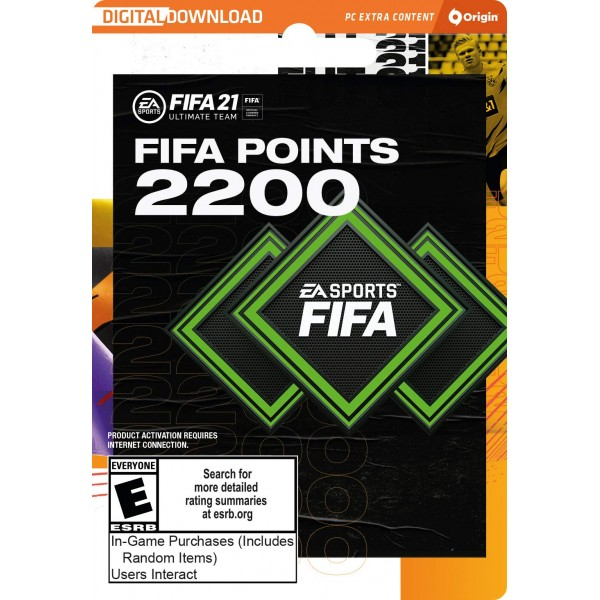 FIFA 21 Ultimate Team Points 2200 Digital (código) / PC Origin