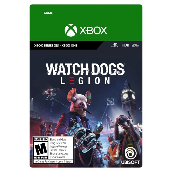Watch Dogs Legion Digital (Código) / Xbox One