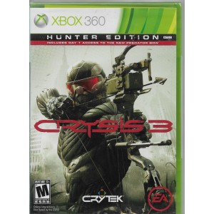 Crysis 3 Hunter Edition (físico) / Xbox 360 - Envío Gratuito