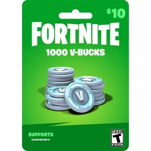 1000 Pavos (V-bucks) Fortnite Ps4 Región (Usa)