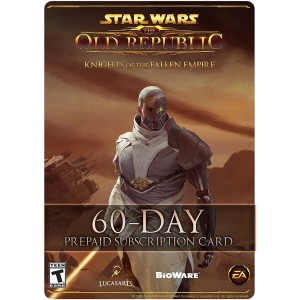 Star Wars The Old Republic 60 Días Suscripcion