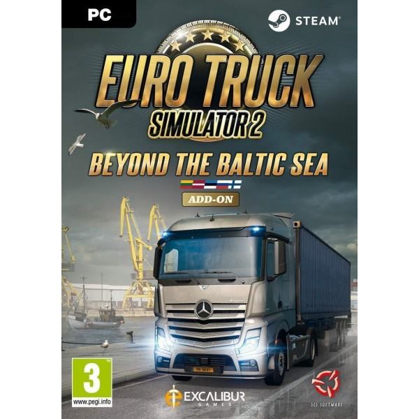 Euro Truck Simulator 2 - Beyond the Baltic Sea Digital (Código) / PC Steam