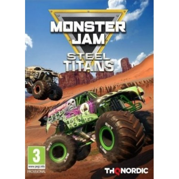 Monster Jam Steel Titans Digital (Código) / PC Steam