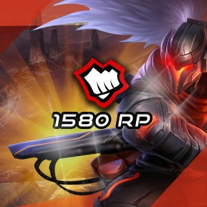 1580 Riot Points League Of Legends Lol - OFICIAL