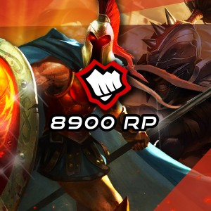 8900 Riot Points League Of Legends Lol - OFICIAL