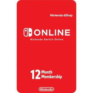 Nintendo Switch Online 12 Meses Digital (código) / Región: USA