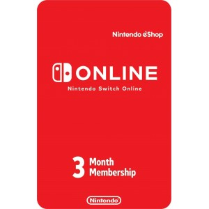 Nintendo Switch Online 3 Meses Digital (código) / Región: USA