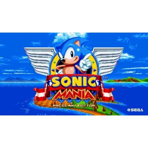 Sonic Mania Digital (Código) / Nintendo Switch