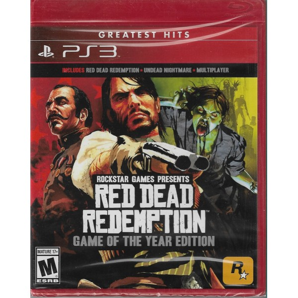 Red Dead Redemption (físico) / Ps3 - Envío Gratuito