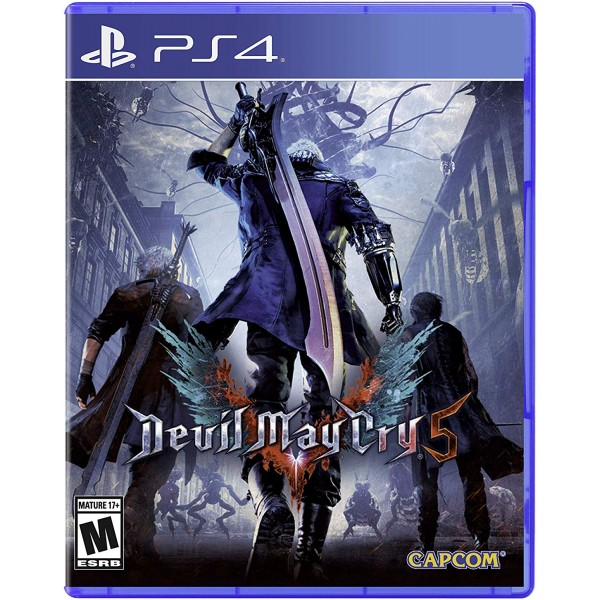 Devil May Cry 5 Digital (código) / Ps4