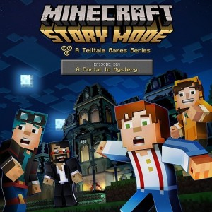 Minecraft: Story Mode - Episode 6: A Portal To Mystery  Digital (Código) / Ps3