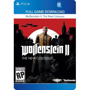 Wolfenstein II: The New Colossus Digital (código) / Ps4