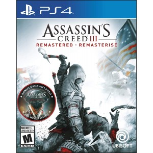 Assassins Creed 3 Remastered (físico) / Ps4 - Envío Gratuito