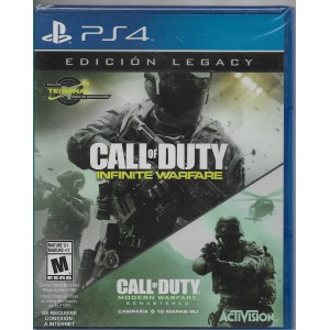 Call of Duty Infinity Warfare Legacy Edition (físico) / Ps4 - Envío Gratuito