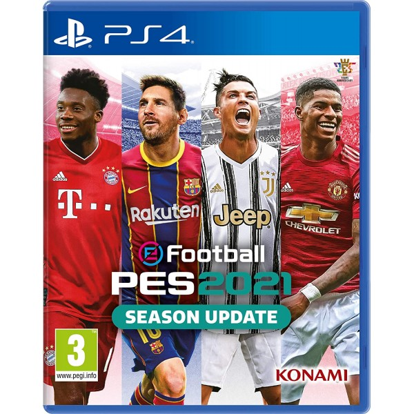 Efootball Pes 2021 Season Update Digital (Código) / Ps4