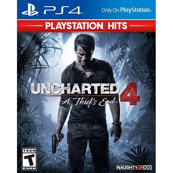 Uncharted 4 A Thief's End (Físico) / Ps4 - Envió Gratuito
