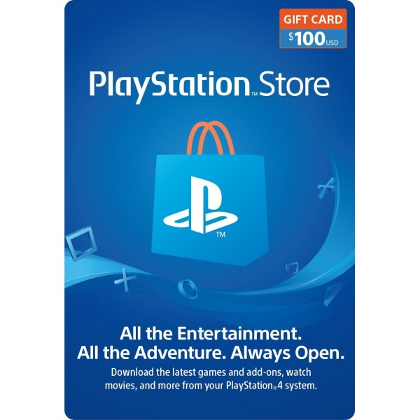 Playstation Network Card 100 Usd (USA)