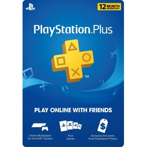 Playstation Plus 1 Año (USA)