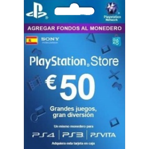 Playstation Network Card 50 Euros (España)