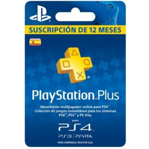 Playstation Plus 12 Meses (España)