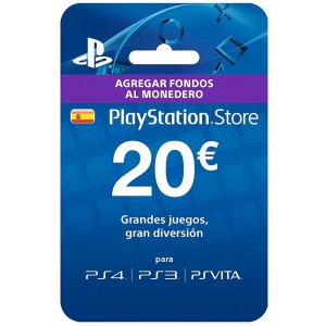 Playstation Network Card 20 Euros (España)