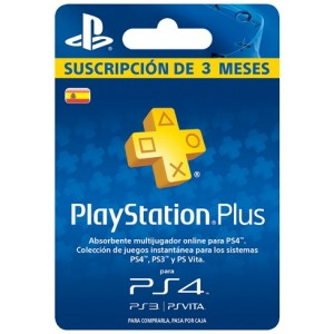 Playstation Plus 3 Meses (España)