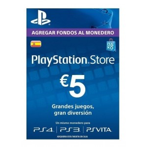 Playstation Network Card 5 Euros (España)