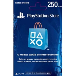 Playstation Network Card R$ 250 (Brasil)