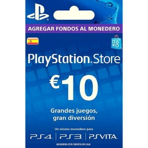 Playstation Network Card 10 Euros (España)