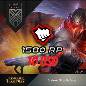 10 USD Riot Cash League Of Legends Lol - OFICIAL