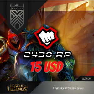 15 USD Riot Cash League Of Legends Lol - OFICIAL