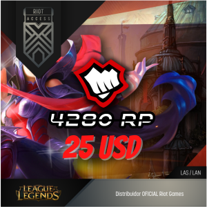 25 USD Riot Cash League Of Legends Lol - OFICIAL