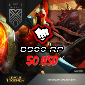 50 USD Riot Cash League Of Legends Lol - OFICIAL
