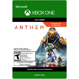 Anthem Digital (Código) / Xbox One