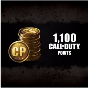 1100 Call Of Duty Points Digital (código) / Ps4