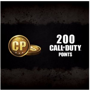 200 Call Of Duty Points Digital (código) / Ps4