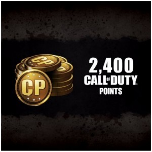 2400 Call Of Duty Points Digital (código) / Ps4