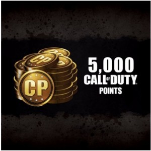 5000 Call Of Duty Points Digital (código) / Ps4