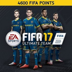 FIFA 17 Ultimate Team FIFA Points 4600 Digital (Código) / Ps4