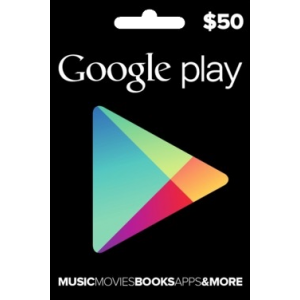 Google  Play 50 Usd