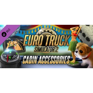 Euro Truck Simulator 2 - Cabin Accessories Digital (Código) / PC Steam