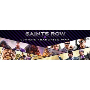 Saints Row Ultimate Franchise Pack Digital (Código) / PC Steam