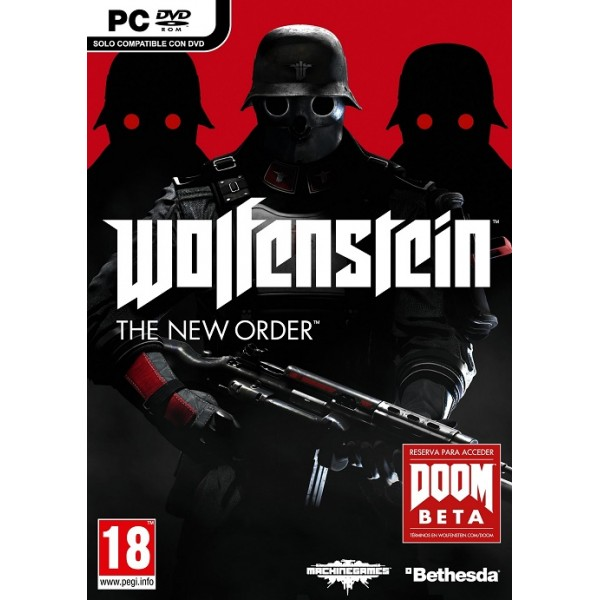 Wolfenstein: The New Order Digital (código) / PC Steam